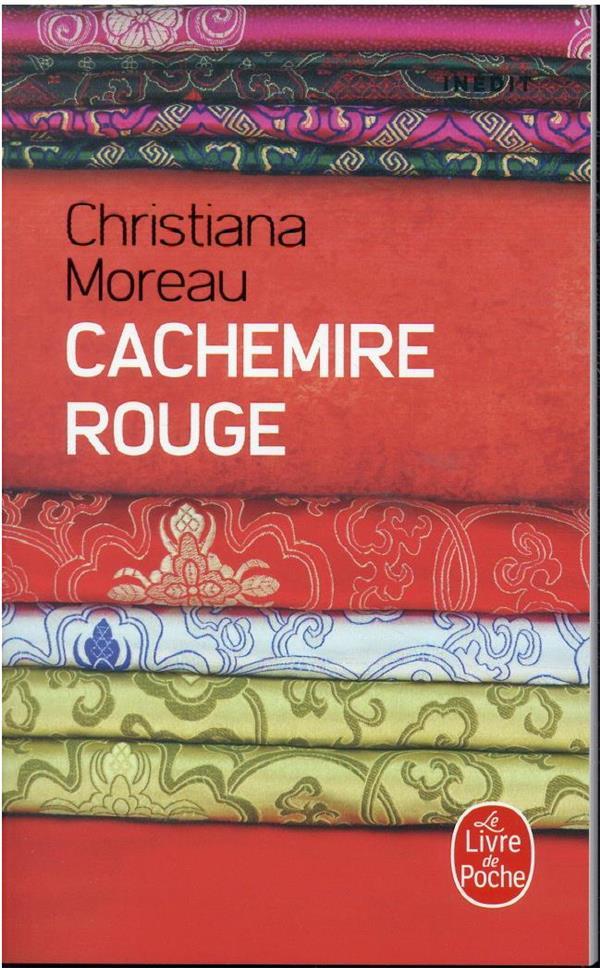 CACHEMIRE ROUGE MOREAU CHRISTIANA LGF/Livre de Poche