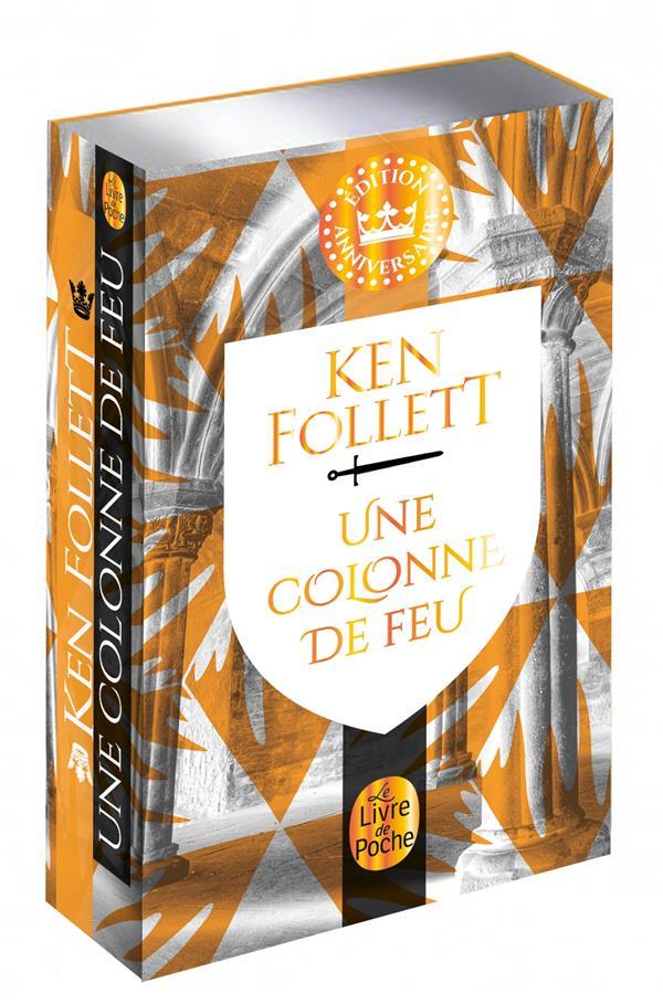 UNE COLONNE DE FEU FOLLETT KEN LGF/Livre de Poche