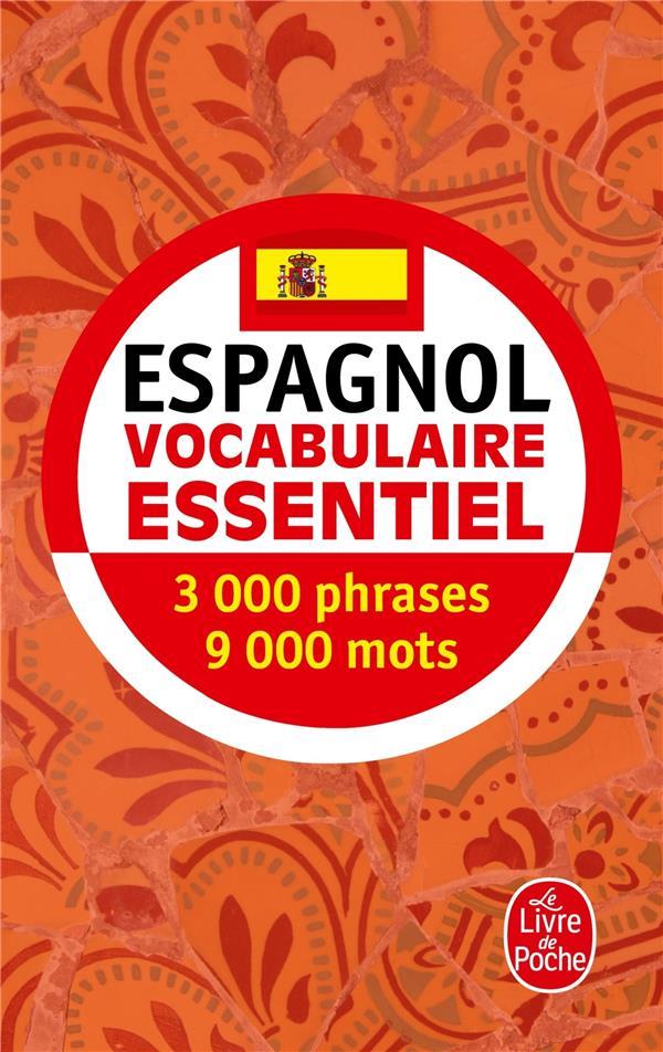 ESPAGNOL  -  VOCABULAIRE ESSENTIEL