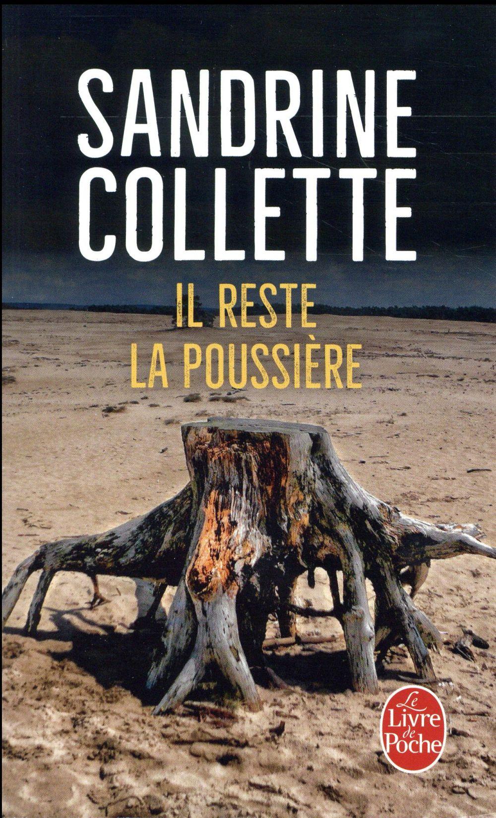 IL RESTE LA POUSSIERE COLLETTE SANDRINE LGF