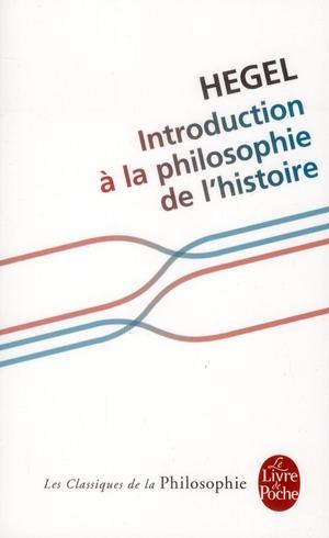 INTRODUCTION A LA PHILOSOPHIE DE L'HISTOIRE