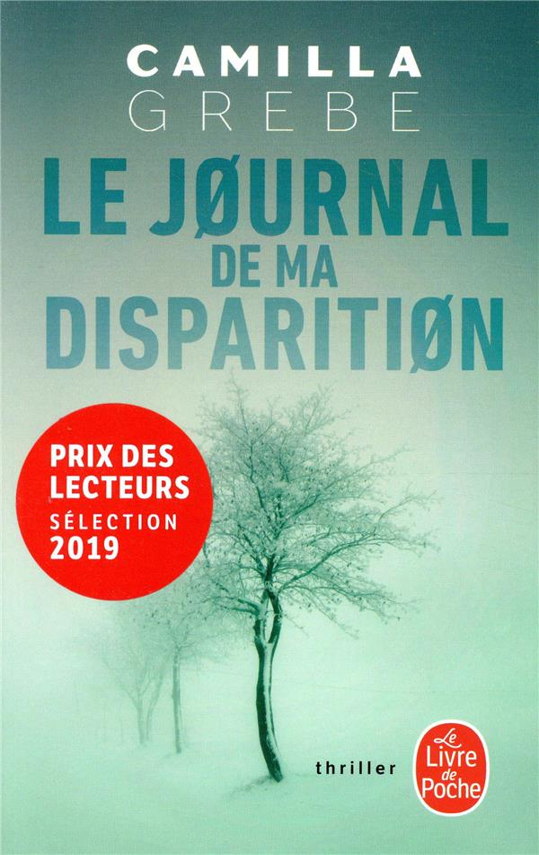 LE JOURNAL DE MA DISPARITION GREBE, CAMILLA Lgdj