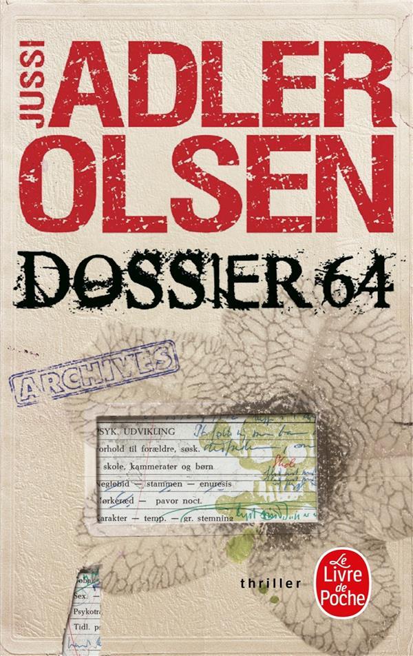 Adler-Olsen Jussi - DOSSIER 64