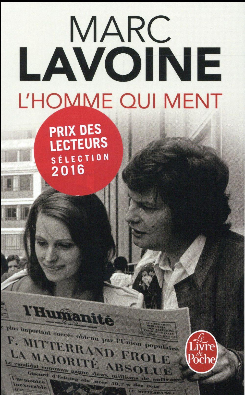 Lavoine Marc - L'HOMME QUI MENT