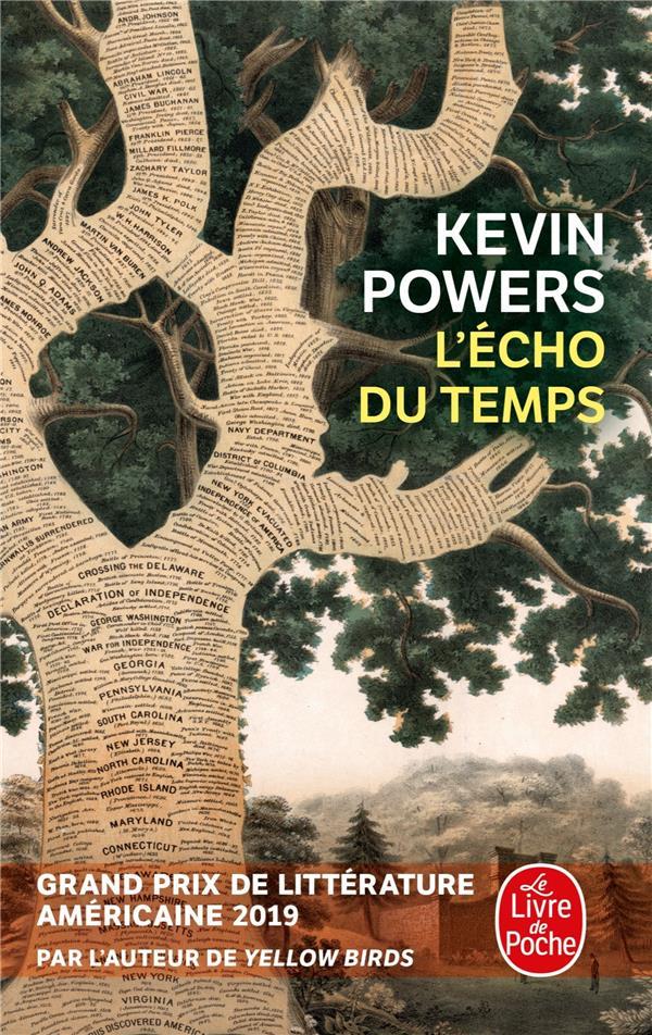 L'ECHO DU TEMPS POWERS KEVIN LGF/Livre de Poche