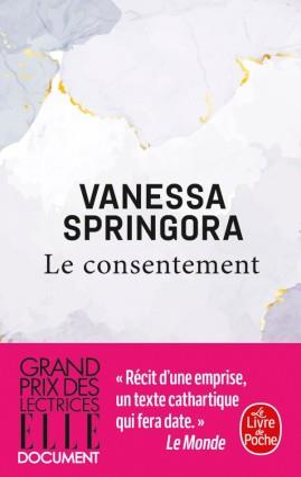 LE CONSENTEMENT SPRINGORA, VANESSA NC