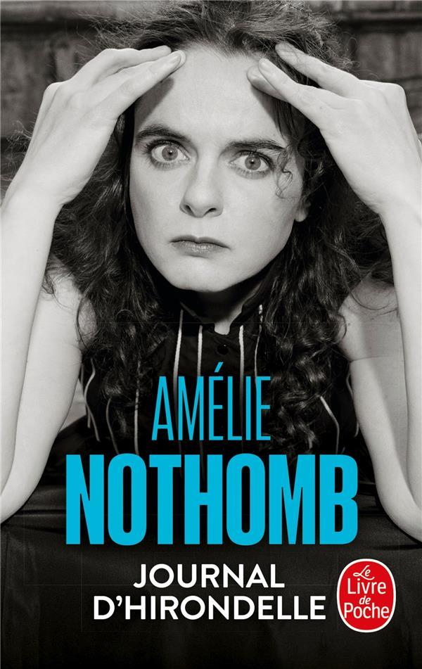 JOURNAL D'HIRONDELLE NOTHOMB-A LGF/Livre de Poche