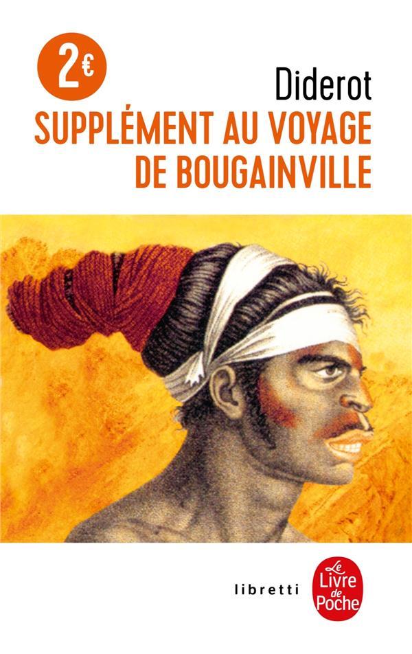 SUPPLEMENT AU VOYAGE DE BOUGAINVILLE DIDEROT DENIS LGF/Livre de Poche