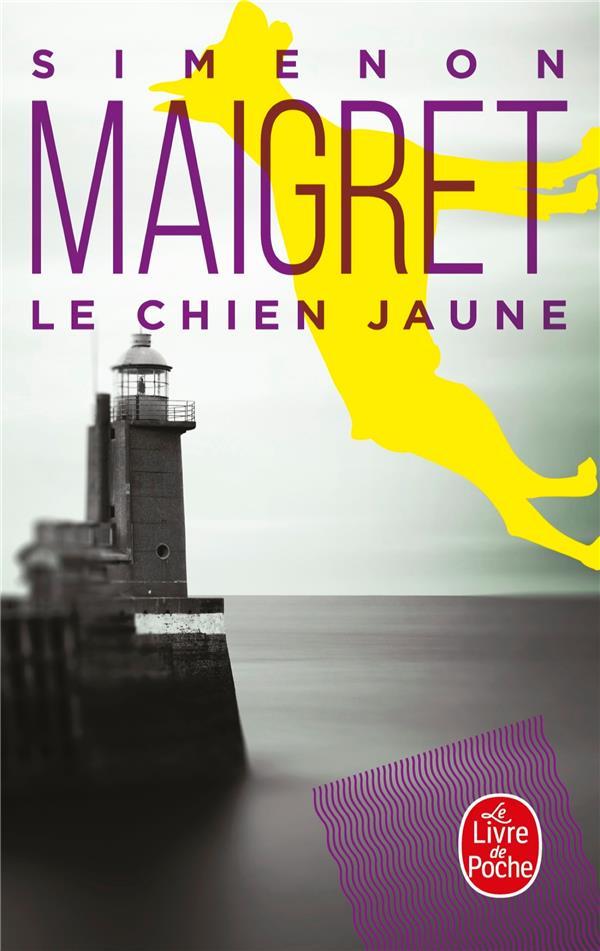 LE CHIEN JAUNE SIMENON GEORGES LGF/Livre de Poche