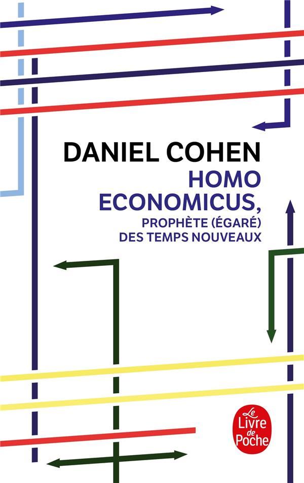 HOMO ECONOMICUS COHEN DANIEL Le Livre de poche