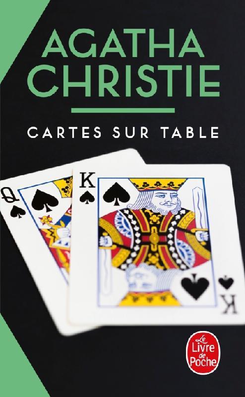 CARTES SUR TABLE (NOUVELLE TRADUCTION REVISEE) CHRISTIE, AGATHA LGF/Livre de Poche