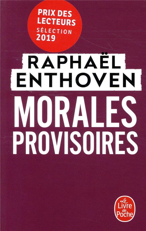 MORALES PROVISOIRES ENTHOVEN RAPHAEL LGF
