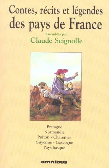 CONTES, RECITS ET LEGENDES - TOME 1 BRETAGNE - VOL01 SEIGNOLLE CLAUDE PRESSES CITE