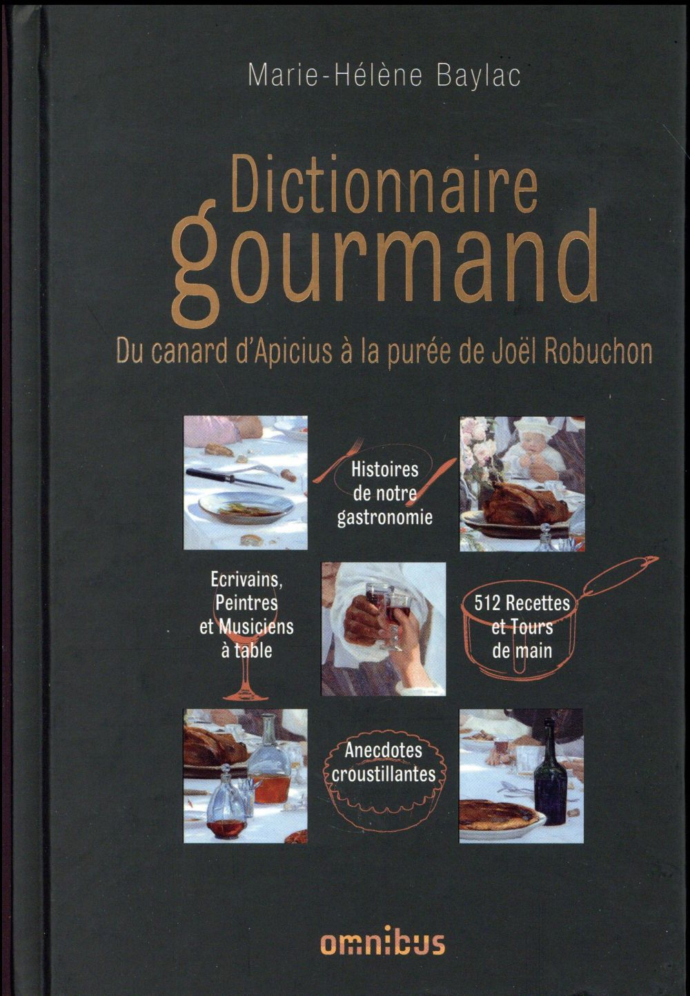 DICTIONNAIRE GOURMAND DU CANAR BAYLAC MARIE-HELENE OMNIBUS