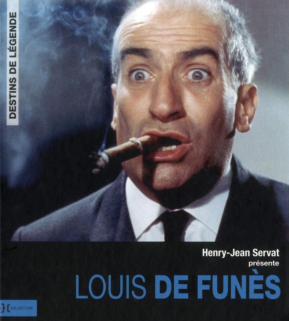 LOUIS DE FUNES - DESTINS DE LEGENDE LEMONIER/SERVAT PRESSES CITE