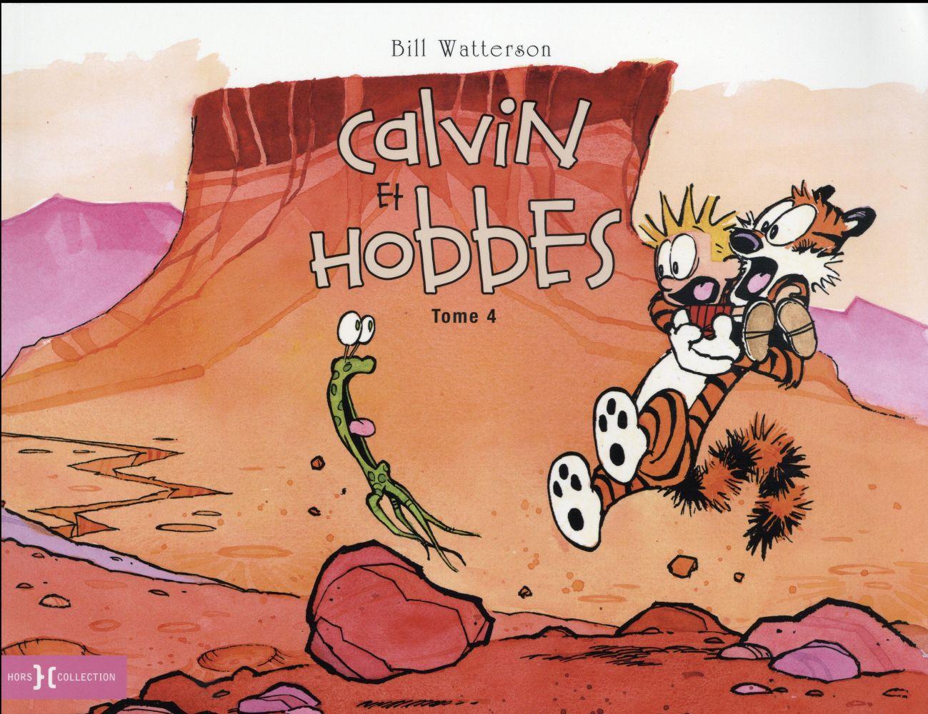 CALVIN ET HOBBES - ORIGINAL T.4 Watterson Bill Hors collection