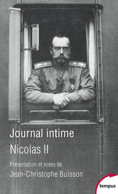 JOURNAL INTIME DE NICOLAS II