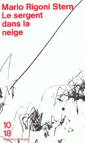 LE SERGENT DANS LA NEIGE RIGONI STERN MARIO 10 X 18