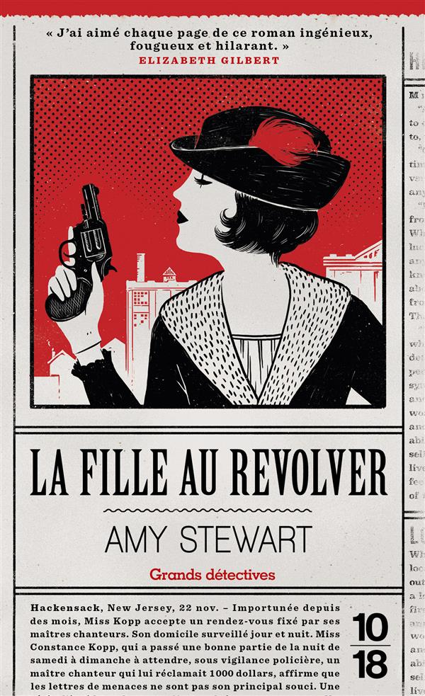 LA FILLE AU REVOLVER Stewart Amy 10-18