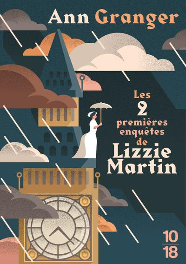 LES PREMIERES ENQUETES DE LIZZIE MARTIN  10 X 18