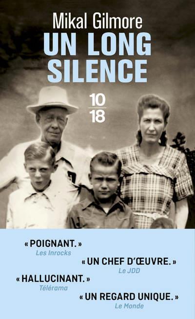 UN LONG SILENCE GILMORE, MIKAL 10 X 18
