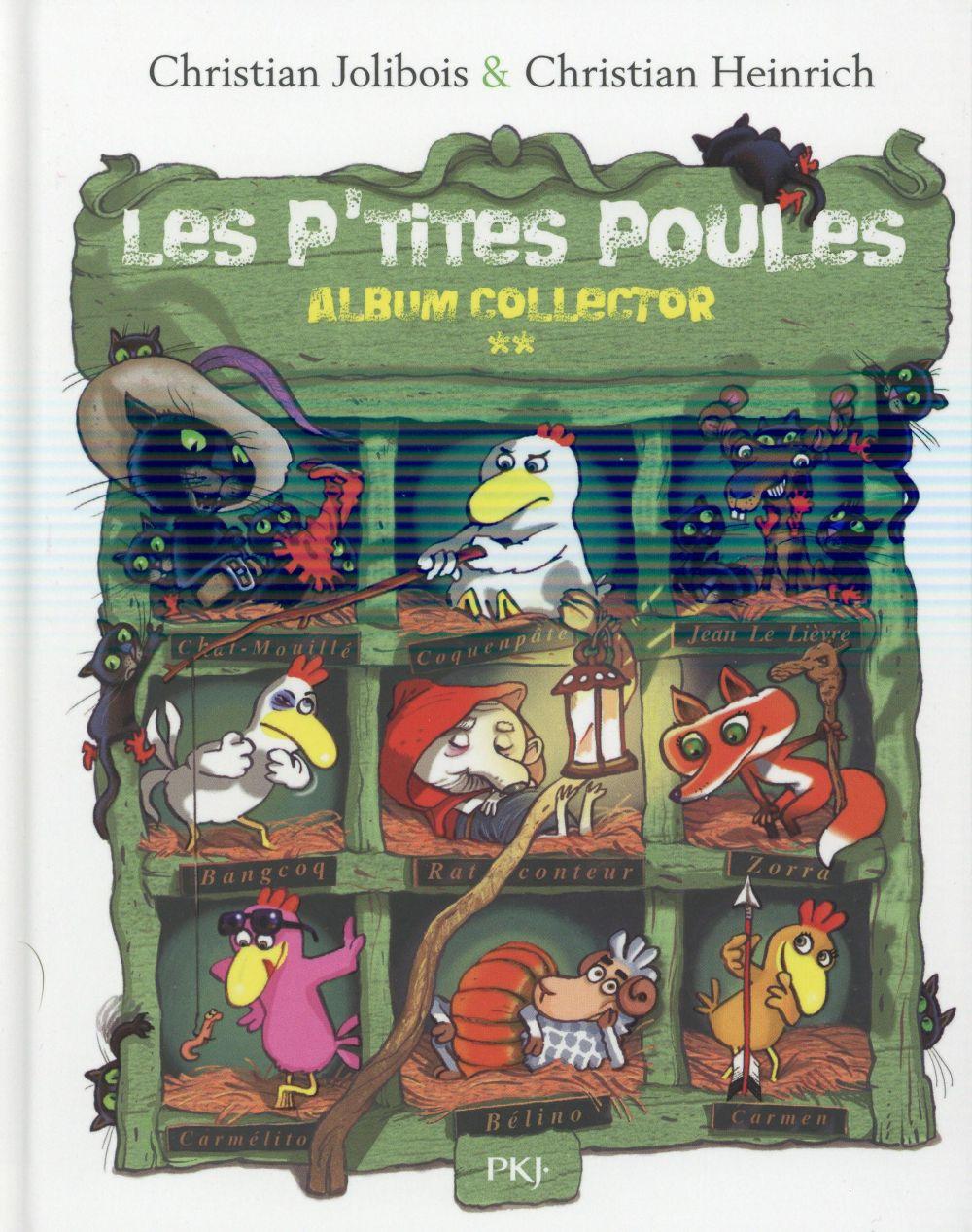LES P'TITES POULES - ALBUM COLLECTOR T02 (TOMES 5 A 8) JOLIBOIS CHRISTIAN POCKET