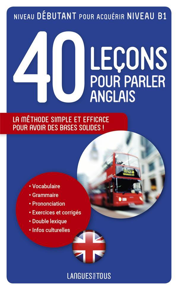 40 LECONS POUR PARLER ANGLAIS MARCHETEAU, MICHEL POCKET