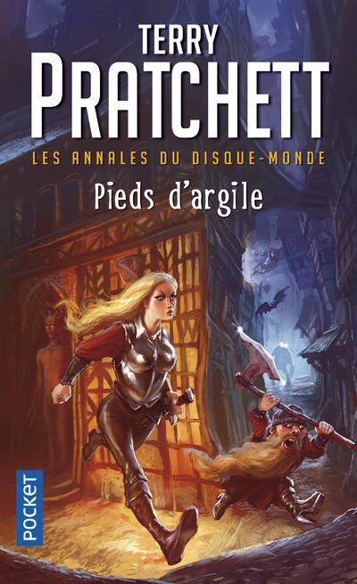 PRATCHETT, TERRY  - LES ANNALES DU DISQUE-MONDE T.19  -  PIEDS D'ARGILE