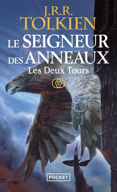 LE SEIGNEUR DES ANNEAUX T.2  -  LES DEUX TOURS Tolkien John Ronald Reuel Pocket