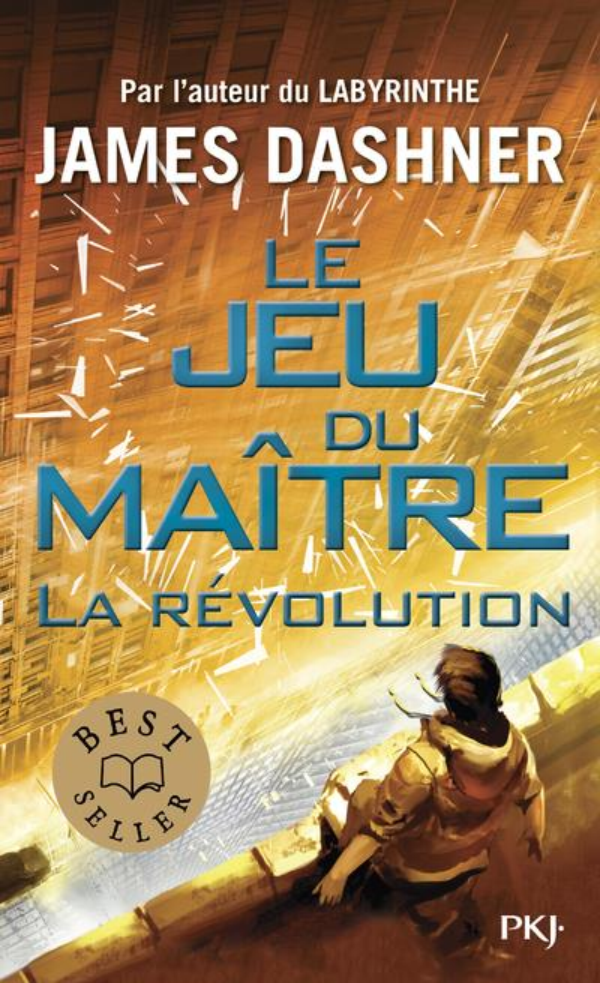 LE JEU DU MAITRE T.2  -  LA REVOLUTION DASHNER JAMES POCKET