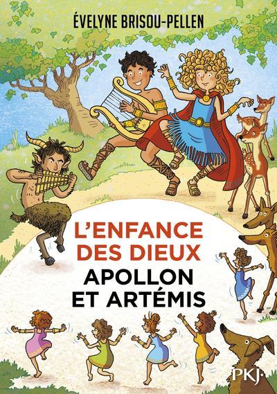 L'ENFANCE DES DIEUX T.3  -  APOLLON ET ARTEMIS BRISOU-PELLEN, EVELYNE POCKET