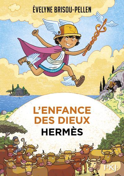 L'ENFANCE DES DIEUX T.4  -  HERMES BRISOU-PELLEN POCKET