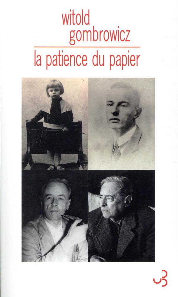 LA PATIENCE DU PAPIER