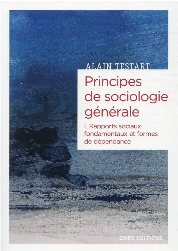 PRINCIPES DE SOCIOLOGIE GENERALE T.1 : DEPENDANCES ET RAPPORTS SOCIAUX