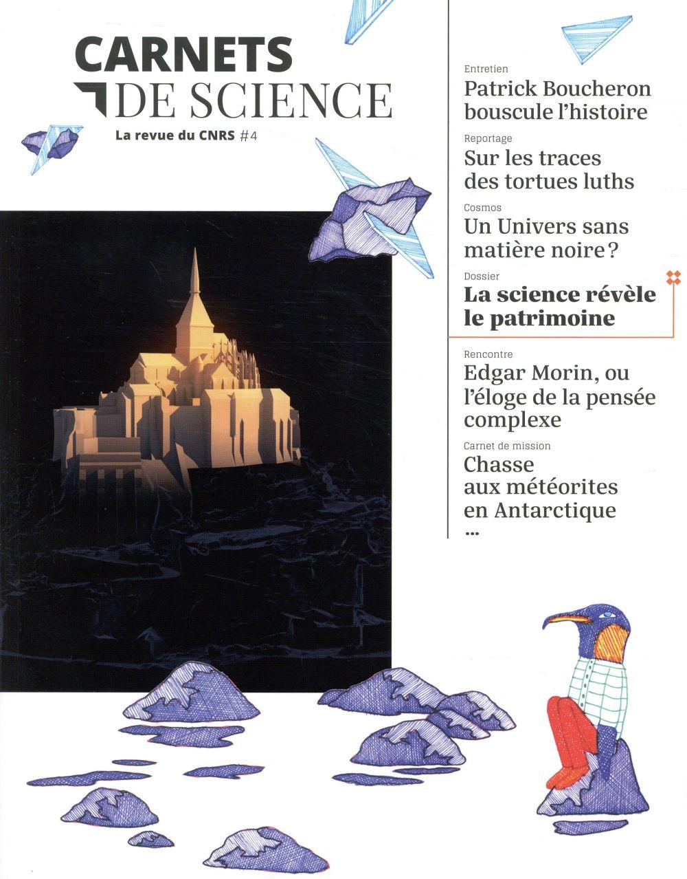 CARNETS DE SCIENCE 4 LA REVUE DU CNRS