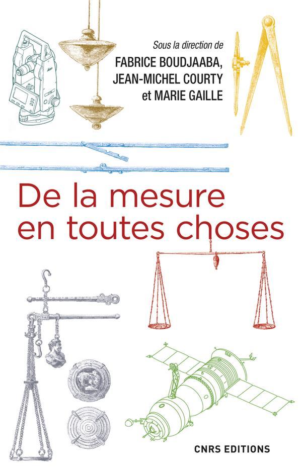 DE LA MESURE EN TOUTES CHOSES BOUDJAABA/COURTY CNRS