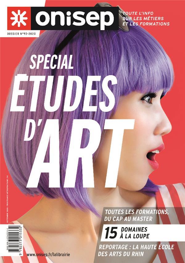SPECIAL ETUDES D'ART