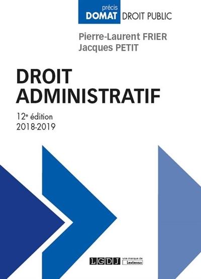 DROIT ADMINISTRATIF (EDITION 20182019)