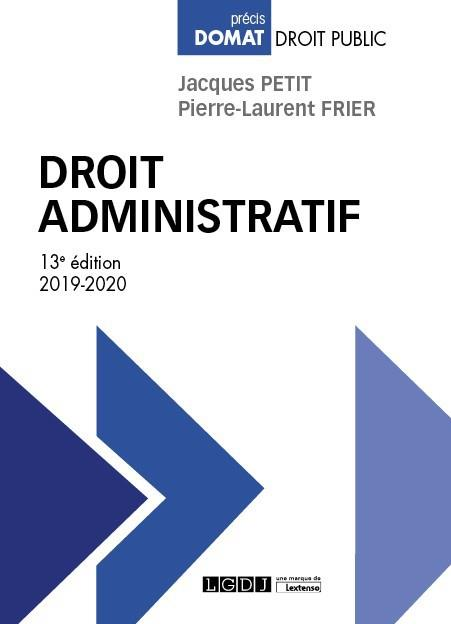 DROIT ADMINISTRATIF (EDITION 20192020)