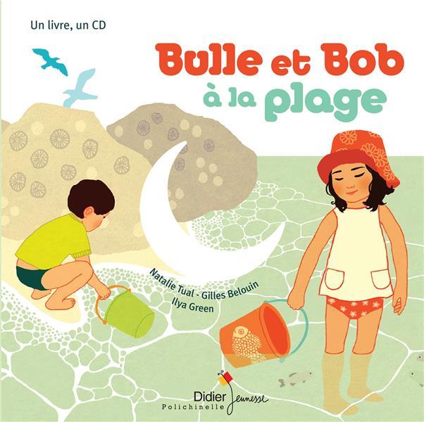 BULLE ET BOB A LA PLAGE TUAL-N. DIDIER