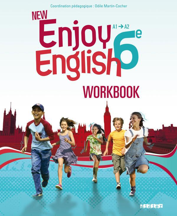 MARTIN-COCHER-O - NEW ENJOY ENGLISH 6E - WORKBOOK - VERSION PAPIER