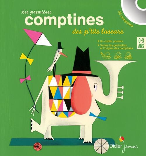 LES PREMIERES COMPTINES DES P- BRULEY/LE SAUX/HAYAT DIDIER JEUNESSE