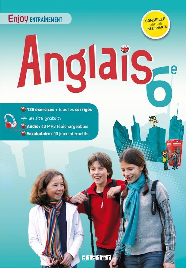 ENJOY ENGLISH  -  ANGLAIS  -  6EME  -  CAHIER D'ENTRAINEMENT MEYER/MARTIN-COCHER Didier