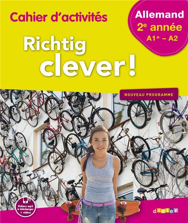 RICHTIG CLEVER 2EME ANNEE - CAHIER - VERSION PAPIER  Didier
