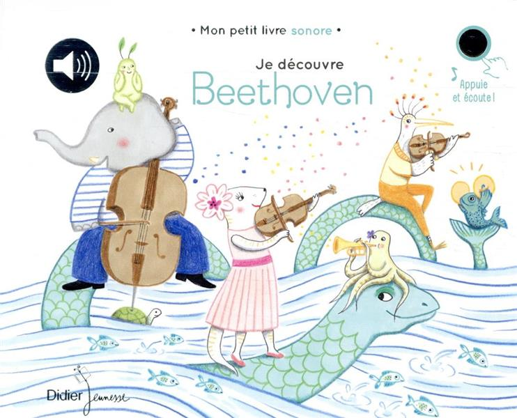 JE DECOUVRE BEETHOVEN  COLLECTIF DIDIER