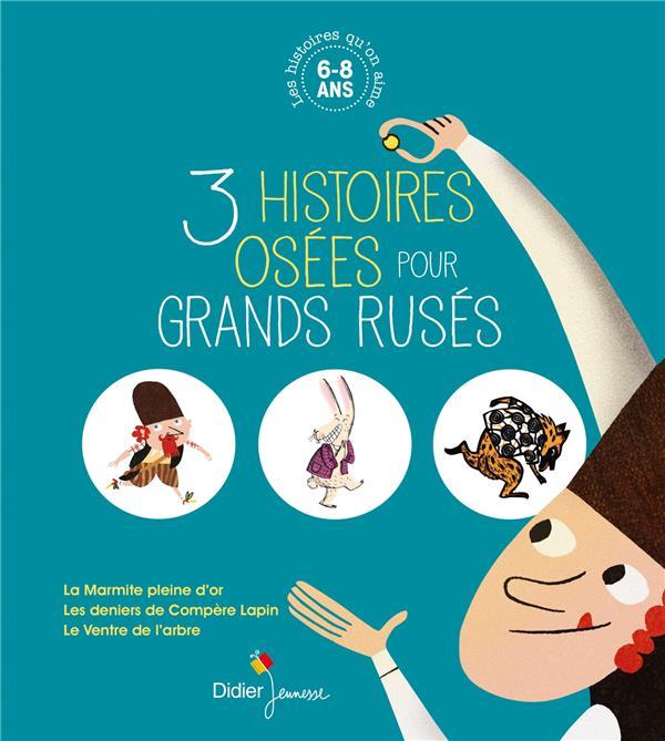 LES HISTOIRES QU-ON AIME, 3 HI LE CRAVER/SIMONSEN DIDIER JEUNESSE
