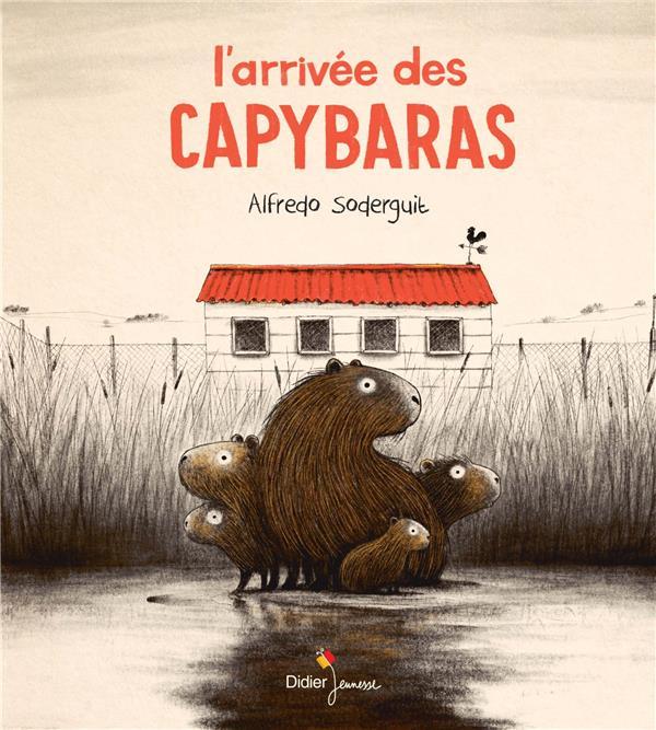 L'ARRIVEE DES CAPYBARAS