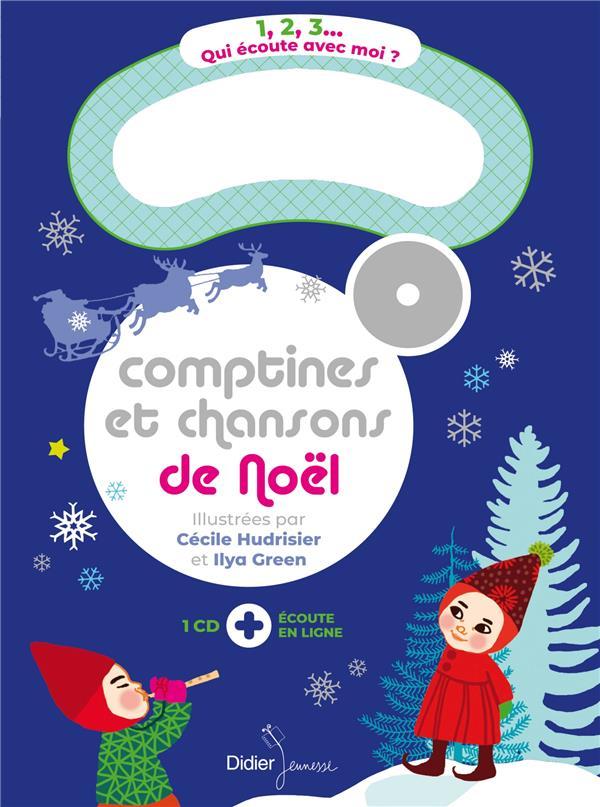 COMPTINES ET CHANSONS DE NOEL HUDRISIER/GREEN DIDIER