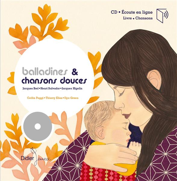 BALLADINES ET CHANSONS DOUCES  -  JACQUES BREL, HENRI SALVADOR  -  JACQUES HIGELLA