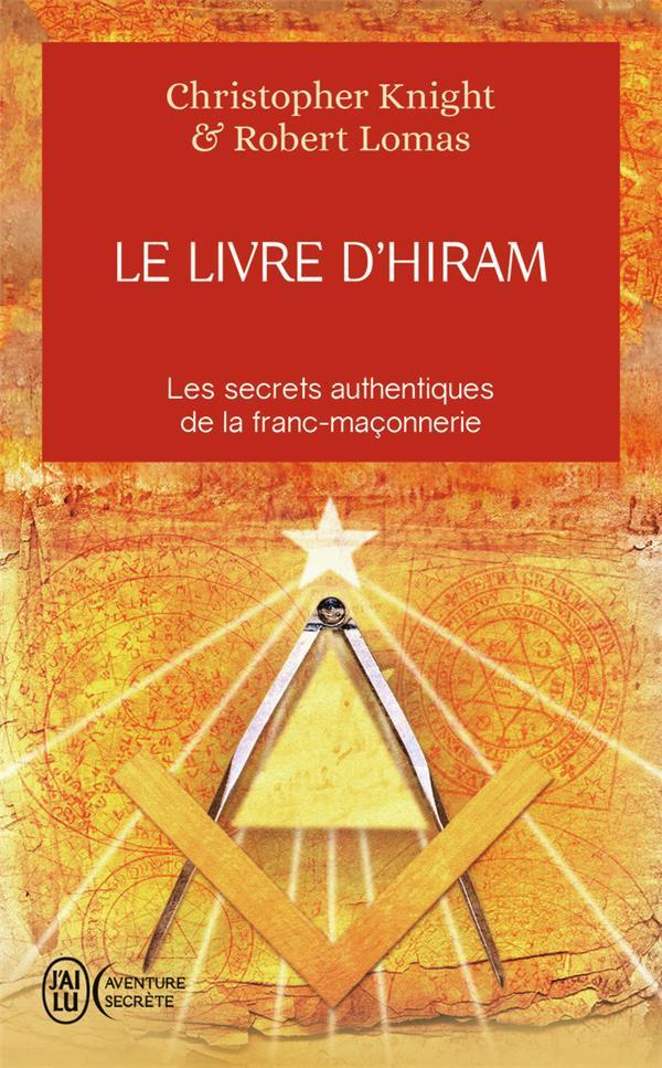 KNIGHT / LOMAS CHRIS - LE LIVRE D'HIRAM